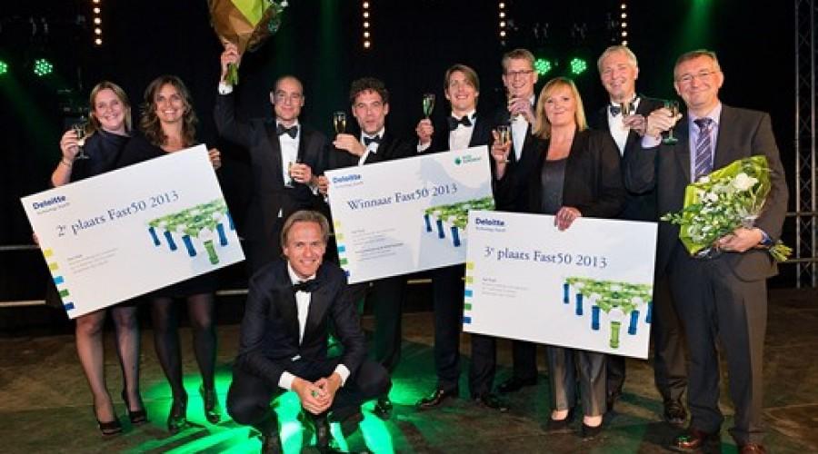 Adyen wint Deloitte Technology Fast50 2013