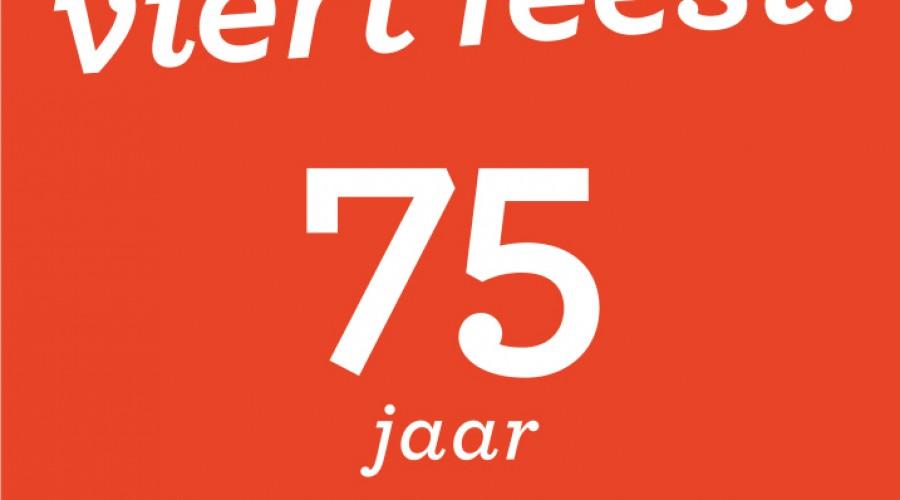 Uitgeverij viert 75-jarig jubileum met pop-up store