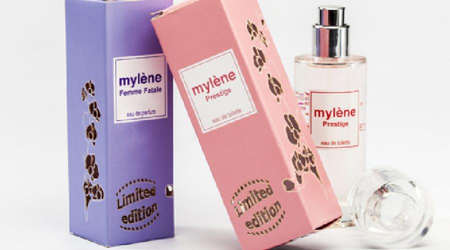 Prijswinnende parfumverpakking