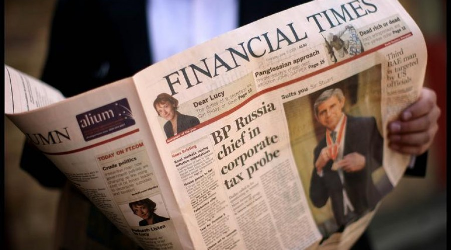Financial Times stop regionale edities
