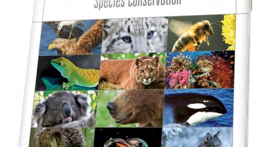Luxe kalender om geld in te zamelen voor de bescherming van bedreigde diersoorten