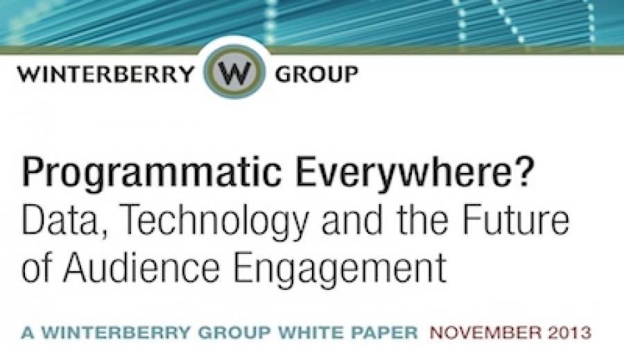 Winterberry Group White Paper: Hoe in de toekomst advertenties en digitale content verkocht zullen worden