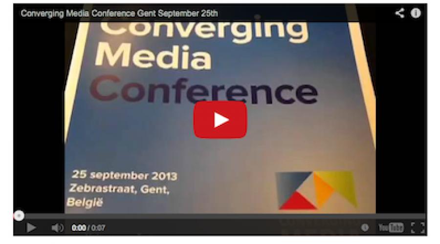 Agenda: Converging Media Conference – 25 maart in het Spant, Bussum