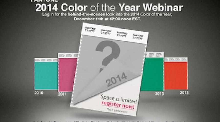 Pantone: Color of the Year webinar geeft je inzicht in welke kleuren het volgend jaar gaan maken