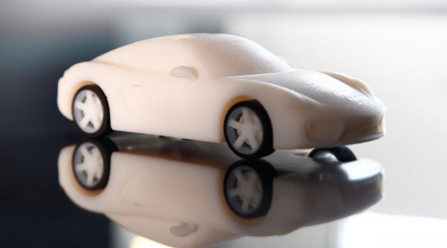 Porsche laat klanten eigen auto printen