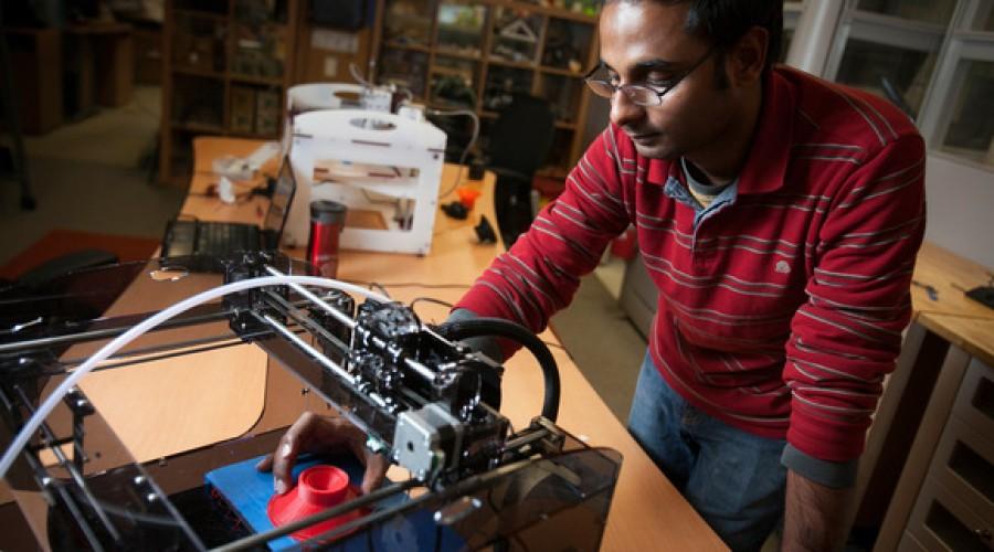 Wetenschappers printen een speaker