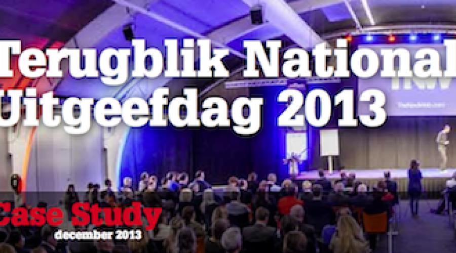Positief nieuws in de gratis MediaFacts terugblik op de Nationale Uitgeefdag 2013