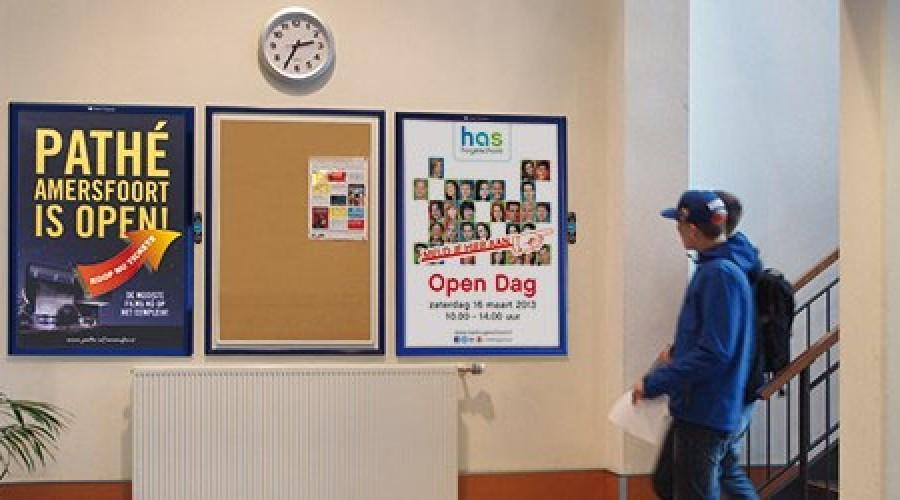 Interactieve posters op scholen