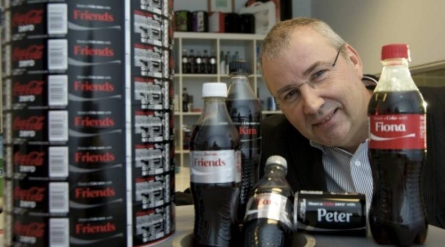 Gepersonaliseerde Coca Cola labels succes