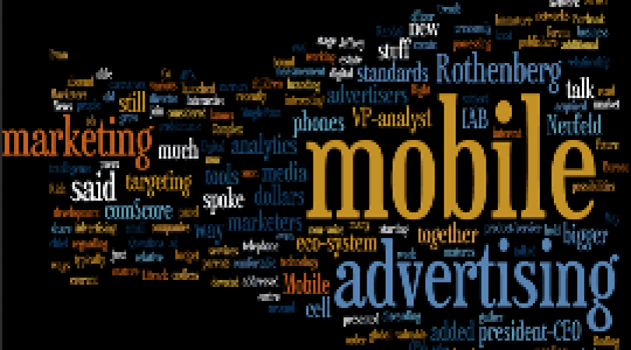 Mobiele advertentiemarkt is booming