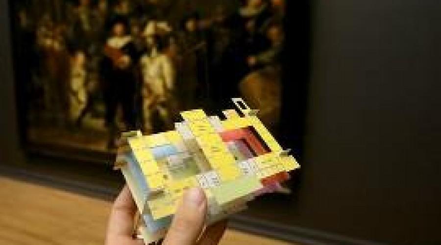 3D-plattegrond Rijksmuseum
