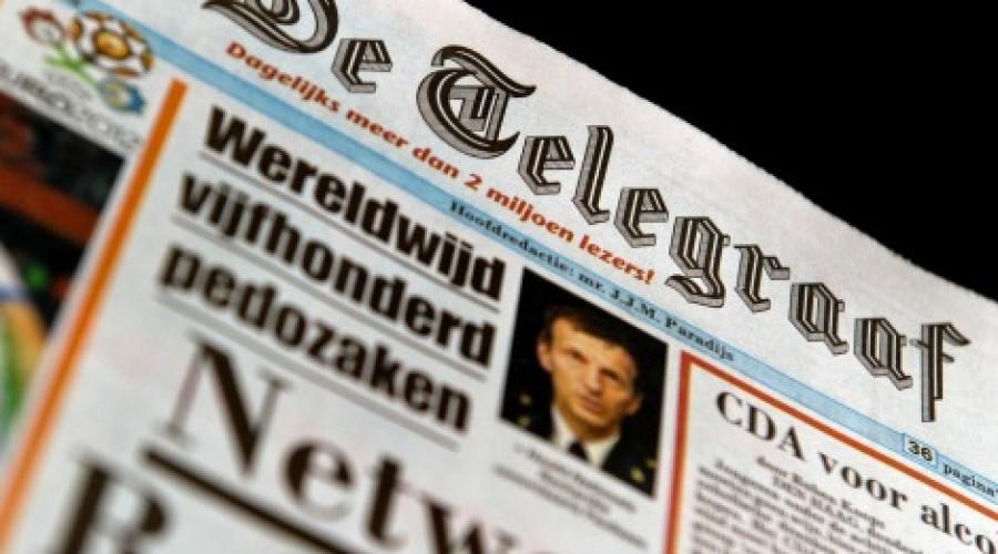 Telegraaf op tabloid en digitaal op zondag