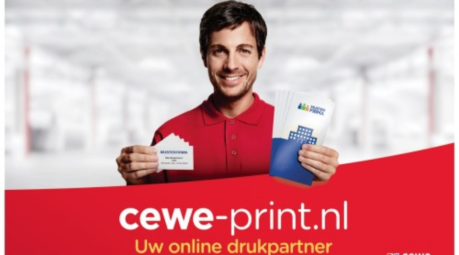 Cewe-print werkt kostenbesparend en milieubewust dankzij efficiënte bedrijfsvoering, standnummer 505