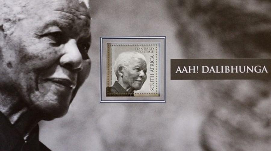Johan Enschedé drukt postzegel Mandela