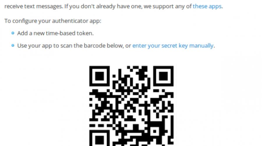 Identificeren met QR code