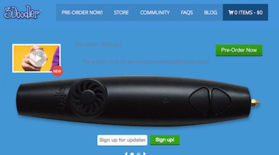 3Doodler pen maakt 3D tekenen wel heel erg makkelijk
