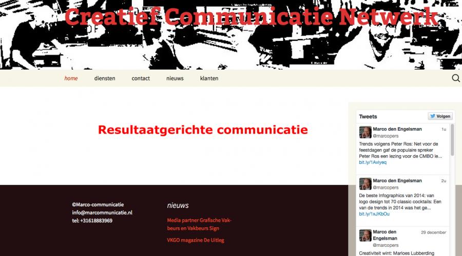 Creatief Communicatie Netwerk gestart