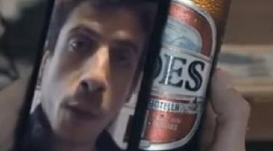 Videoboodschap op bieretiket