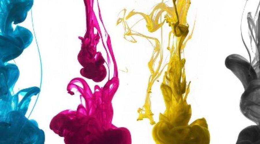 Inkt verandert van kleur door adem
