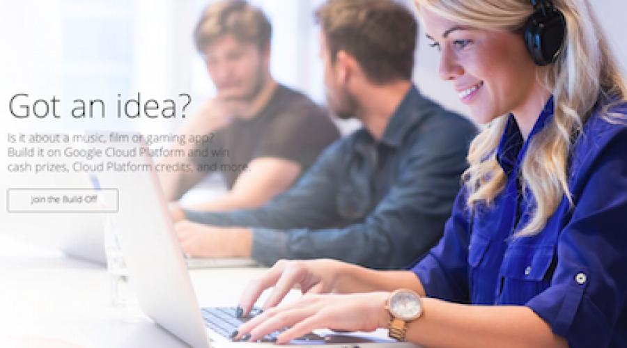 Slim content idee? Win $100K met de Google Cloud Platform Build-Off