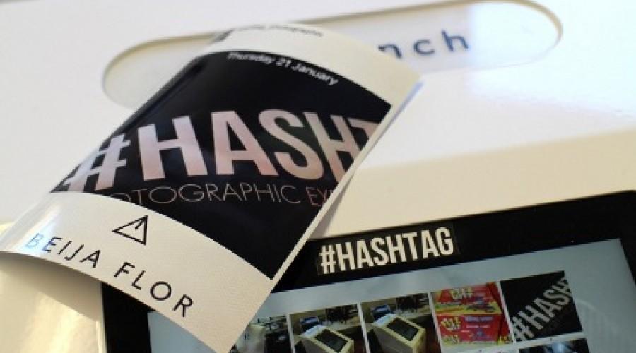 Hashtag-printer