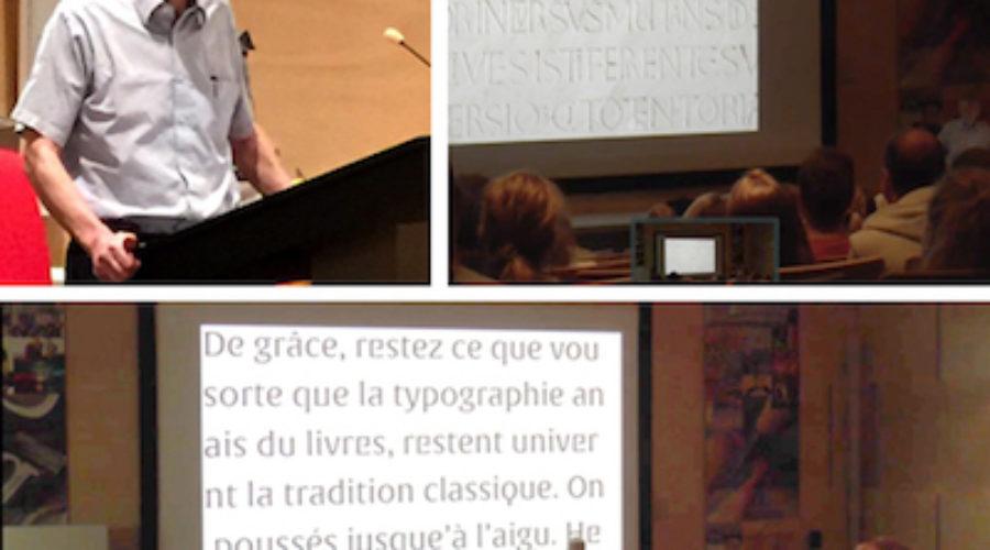 Video verslag Gerard Unger GLU pro•lezing