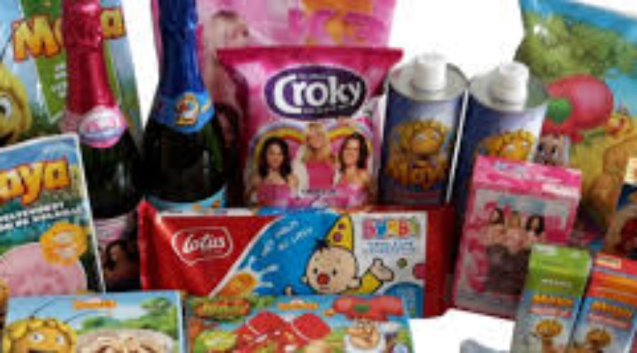 Protest tegen kindermarketing op ongezonde voedingsverpakkingen
