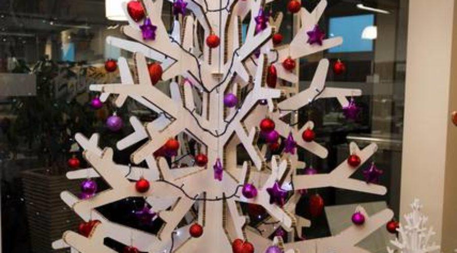 Laat de kerstboom printen