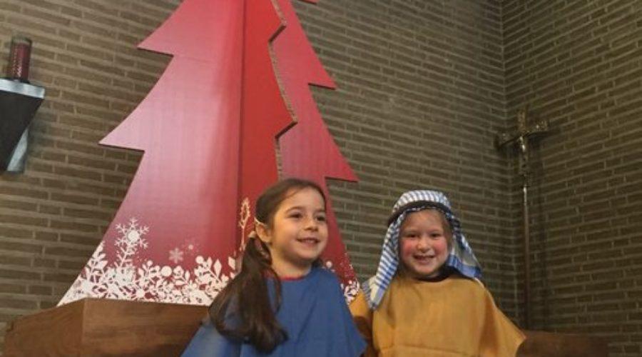 Geprinte kerstboom ontroert kerk