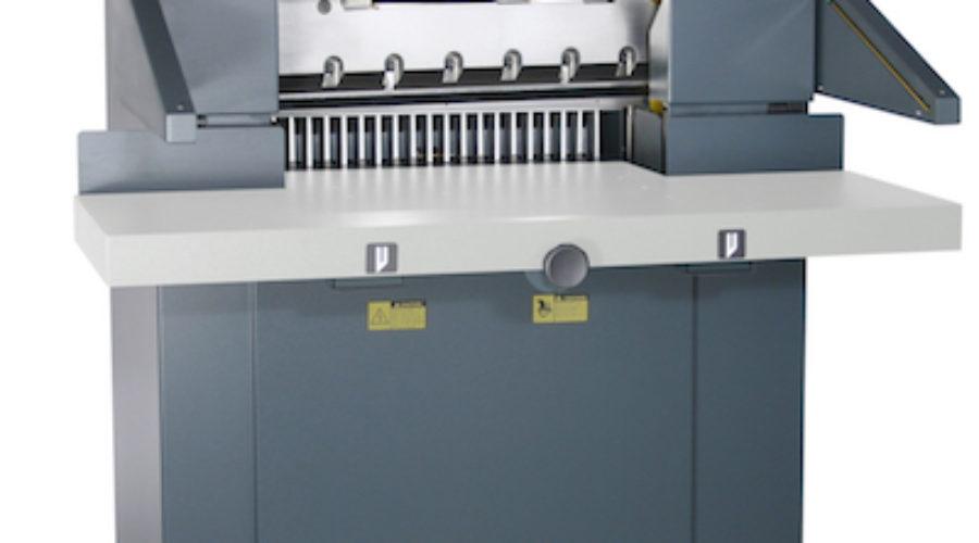 Twee snijmachine primeurs speciaal ingevlogen van Michigan op de Vakbeursstand van Kentie