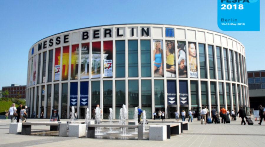 FESPA 2018 vier dagen, negen hallen in Messe Berlin