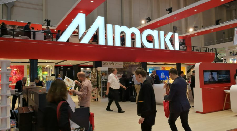 Mimaki toont 3D-printer op Fespa