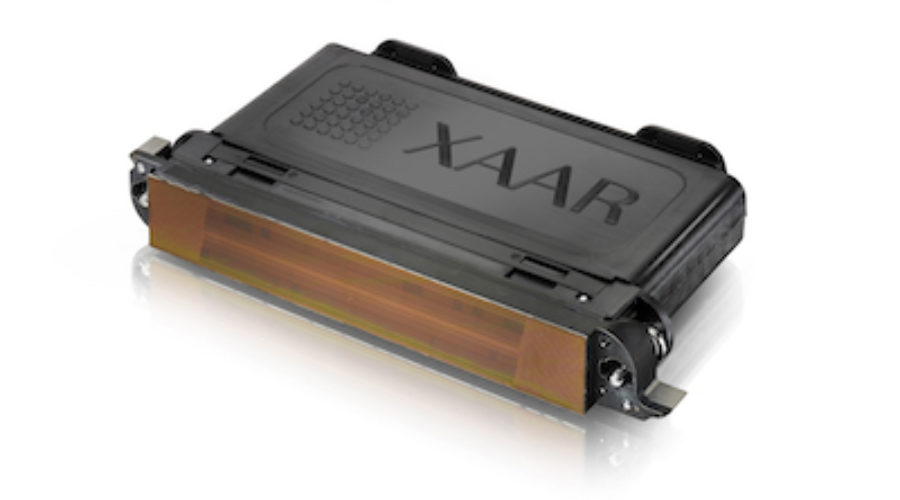Xaar 5501: a new printhead for water-based inks