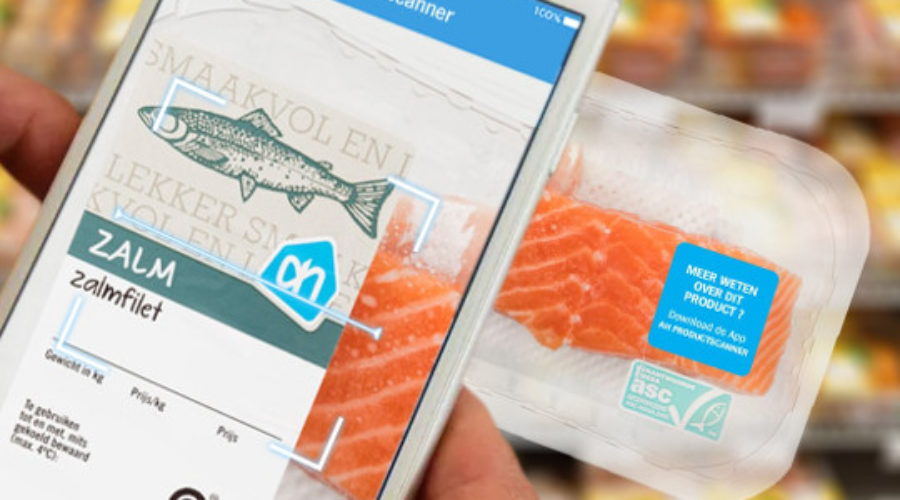 Albert Heijn introduceert productscanner met augmented reality