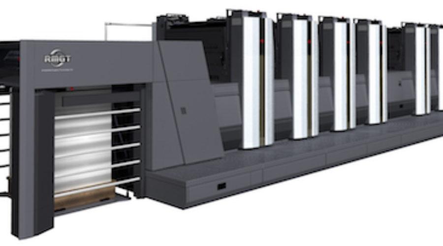Primeur op IPEX: de nieuwe RMGT Ryobi 928P LED-UV 8 pagina's 8 kleuren pers