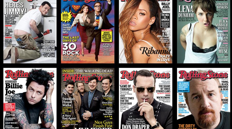 Te koop: muziekblad Rolling Stone