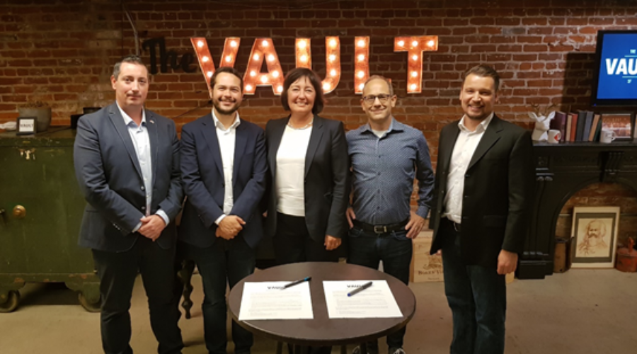 The Hague Tech collaboration with The Vault in San Francisco