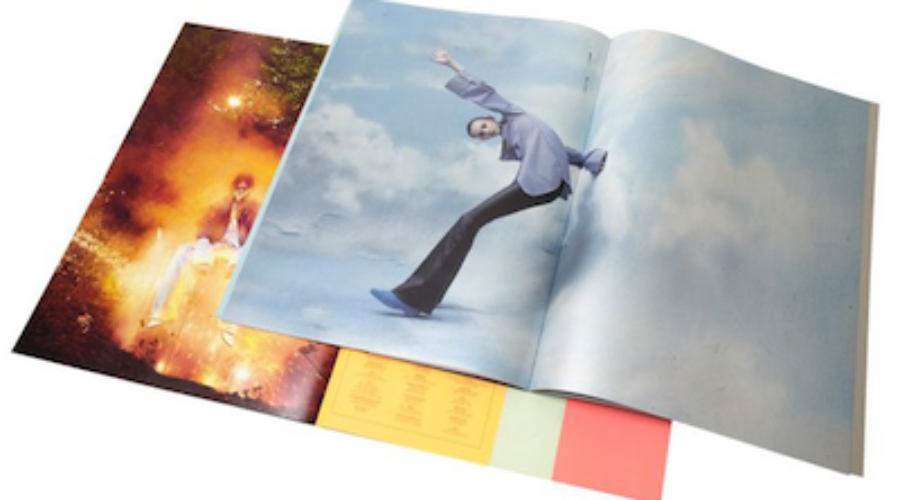 Digitally printed catalogue with spectactular colour range helps sales of exclusive fashion line