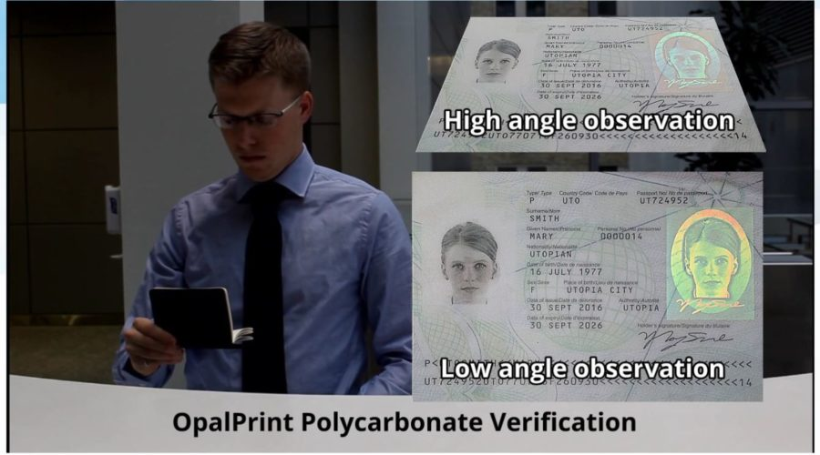 New technology for security printing