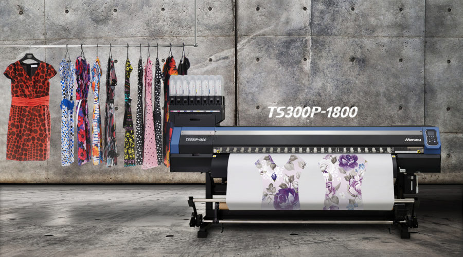 Mimaki to present the beauty of digital textile printing at Heimtextil 2018