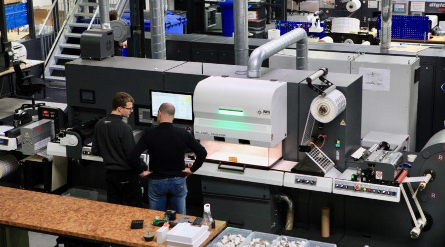 PRstory: Veel variatie met SEI labelmaster bij Vila Etiketten