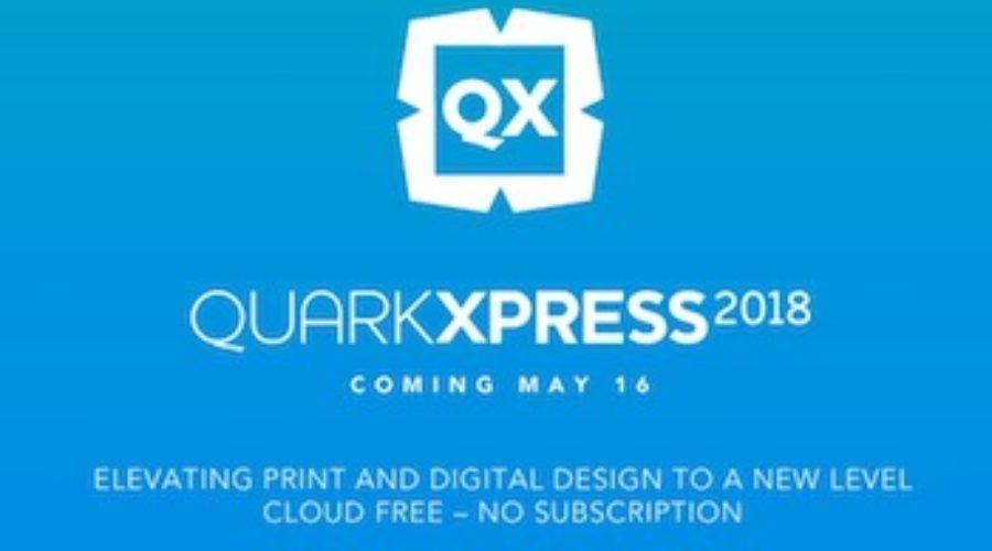 Quark XPress 2018 zonder cloud