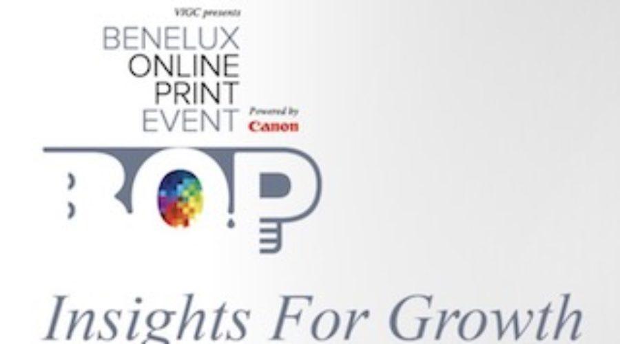VIGC Benelux Online Print Event op 31 mei