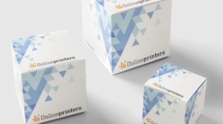 Onlineprinters gaat in verpakkingen