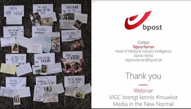 VIGC bPost webinar