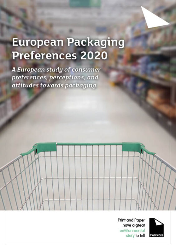 European Packaging Preferences 2020 Cover