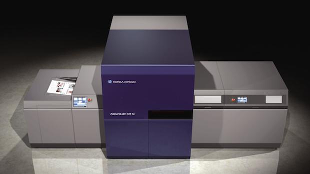 Konica Minolta Accuriojet Km 1e Bogen Inkjet Digitaldruck Uv Inkjet