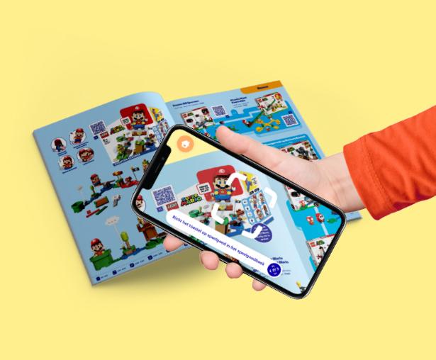 Speelgoedboek Hand Iphone