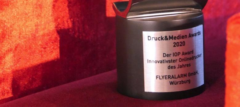 Flyeralarm Druck Mediem Awards 2020