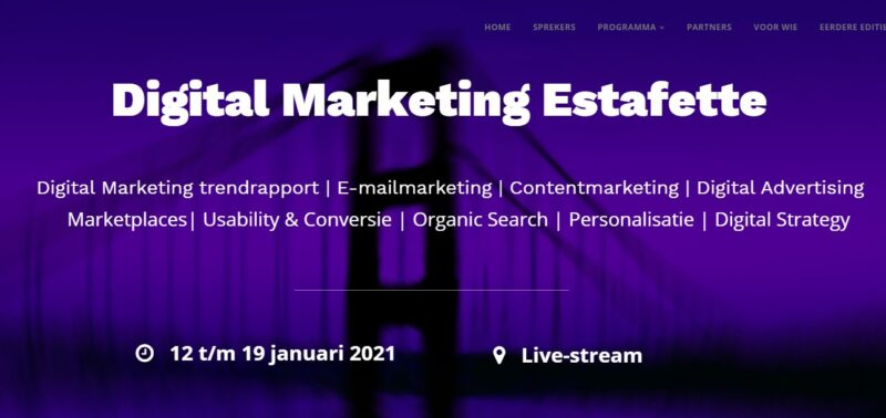Digital Marketing Estafette